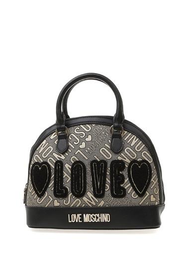 Love Moschino Clutch / El Çantası Altın